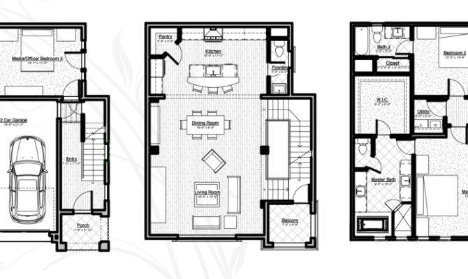 Single House Floor Plans Architectural Designs