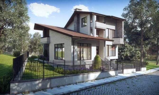 Single House Vitosha Sofia Kunchevarchdesign