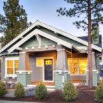 Single Level Bedroom Bath Cottage Style House Plan Just