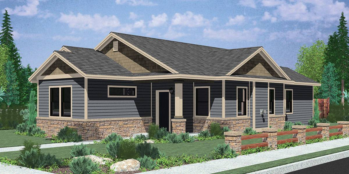 Single Level House Plans Simple Living Homes