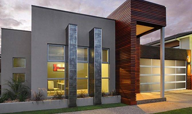 Single Storey Contemporary Home Designs