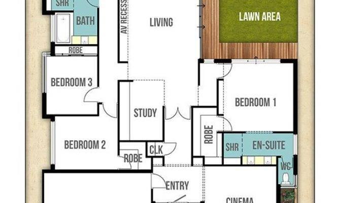 Single Storey House Design Plan Moore Bed Bath