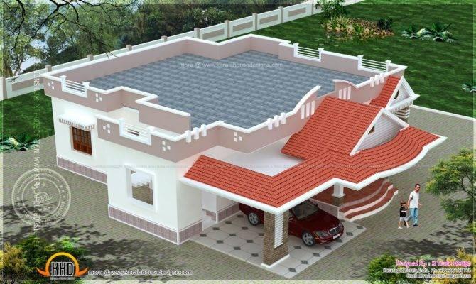 Single Storied Bedroom House Elevation Kerala Home Design