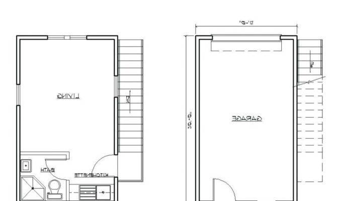 Single Story Garage Apartment Plans Venidami