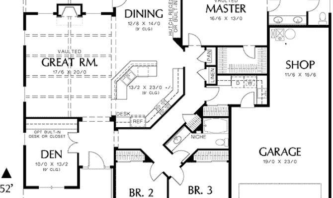 Single Story House Floor Plans Plan Northwest