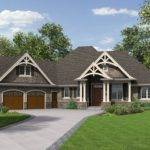 Single Story House Plans Bonus Room Above Garage