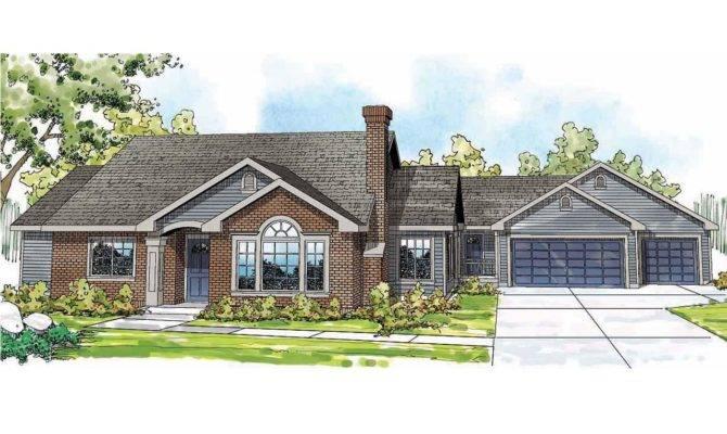 Single Story House Plans Front Porch Home Deco