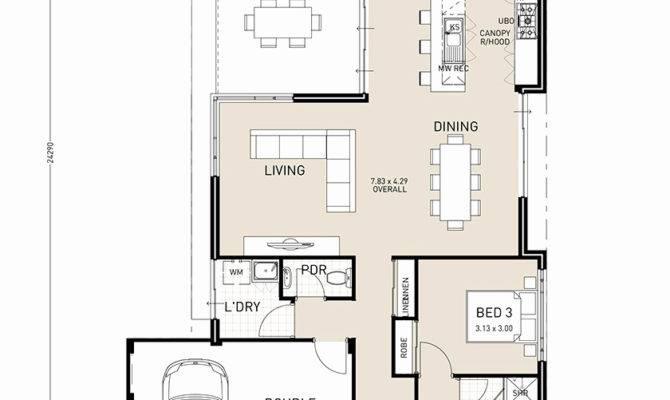 Single Story House Plans Narrow Blocks Escortsea