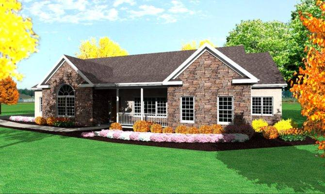 Single Story Ranch House Plans Find