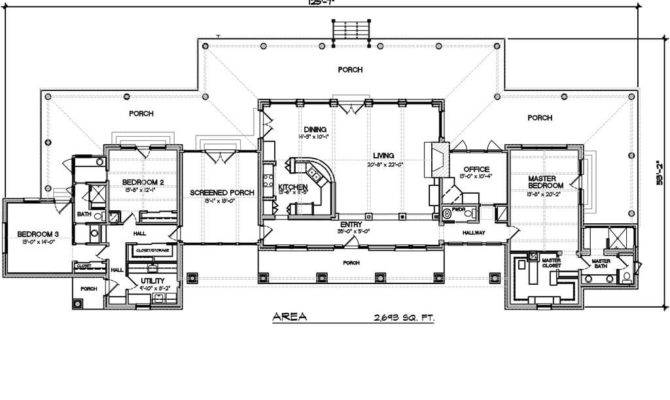 Single Story Ranch House Plans New Style Plan