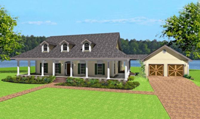 Single Story Ranch Style House Plans Wrap Around