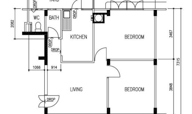Sit Built Room Flats Too Least Silat Estate Floorplan