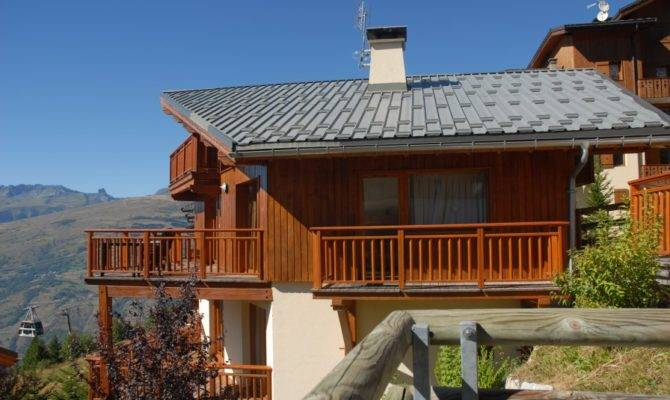 Ski Chalet Sale Plan Peisey Les Arcs French Alps