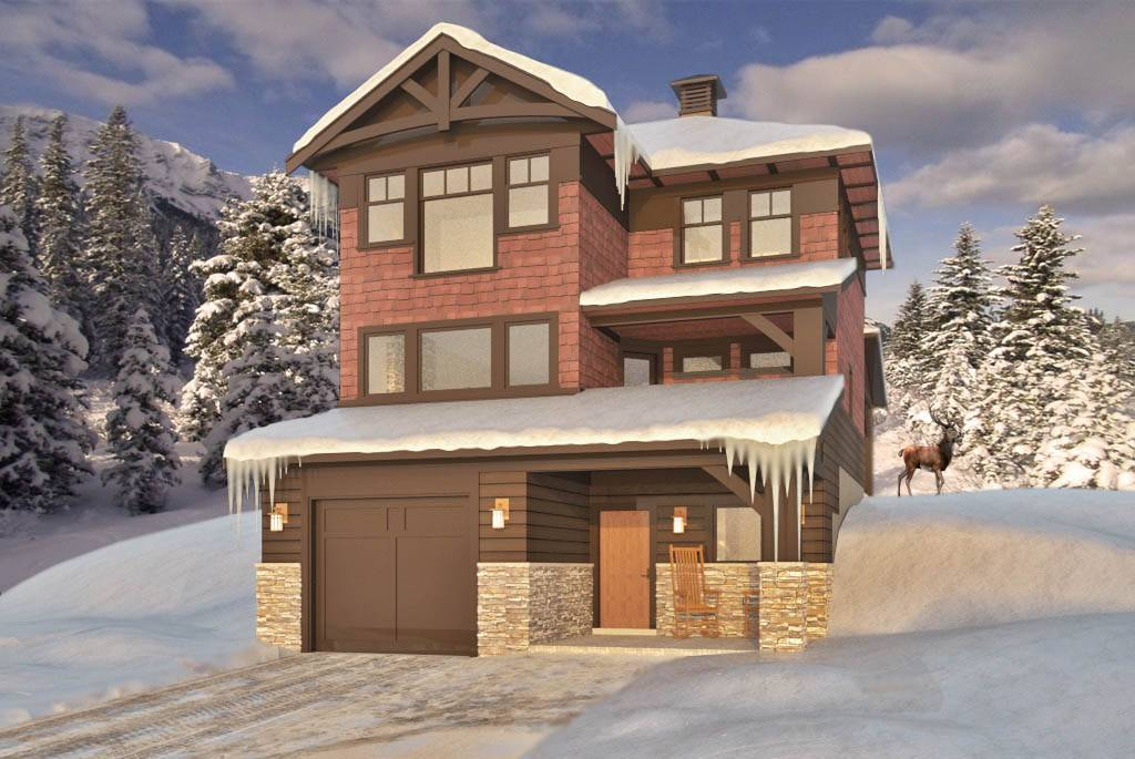 Ski Chalet Style House Plans