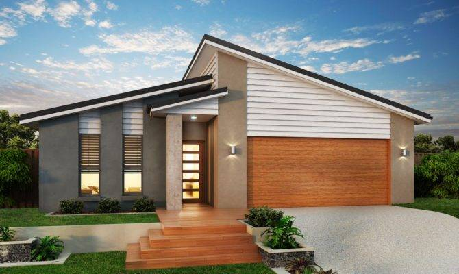 Skillion Roof House Designs Modern Plans Home