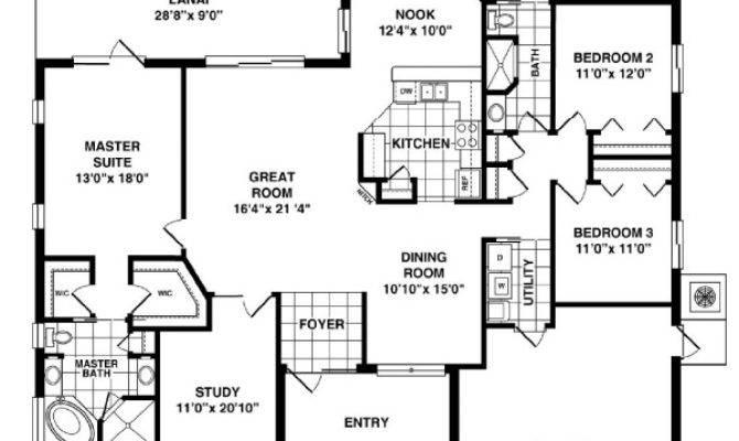Slater Room Home Plan Bedroom Bath