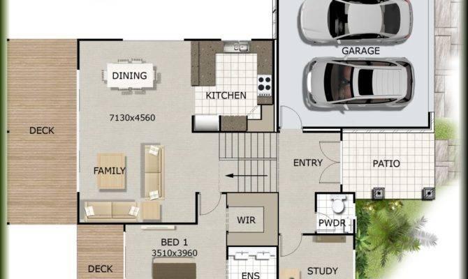 Slope House Plans Modern Designs Trendir Home