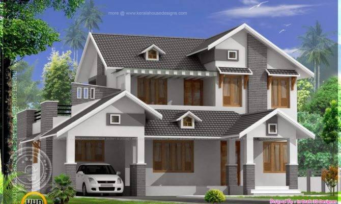 Sloped Roof Elevation Joy Studio Design Best