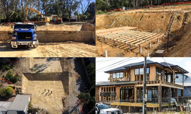 Sloping Block Builders Melbourne Split Level Homes