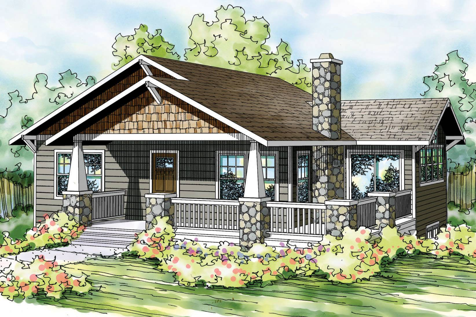 sloping lot house plans sloped associated designs home
