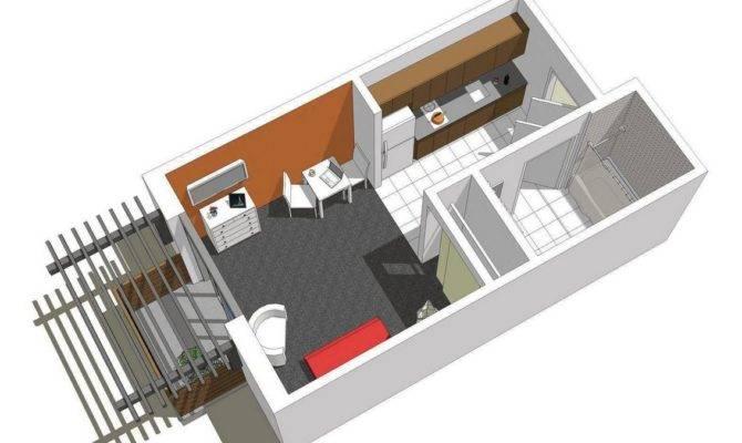 Small Apartments Tiny House Floors Plans Floor Micro Apt