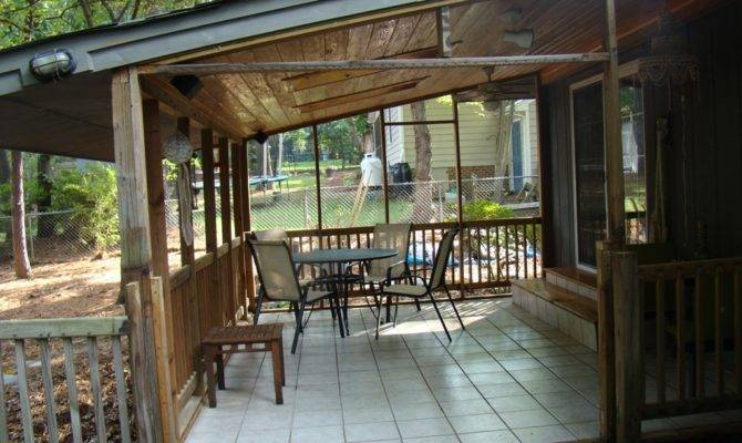 Small Back Porch Awning