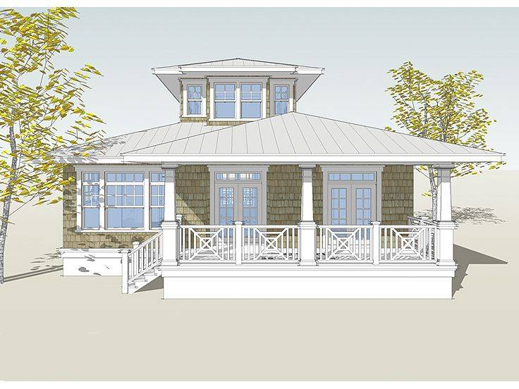 Small Beach Cottage Plans Pilings