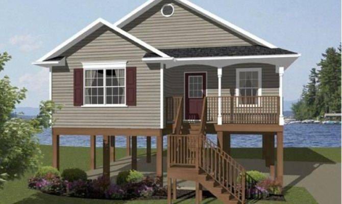Small Beach Front House Plans Design