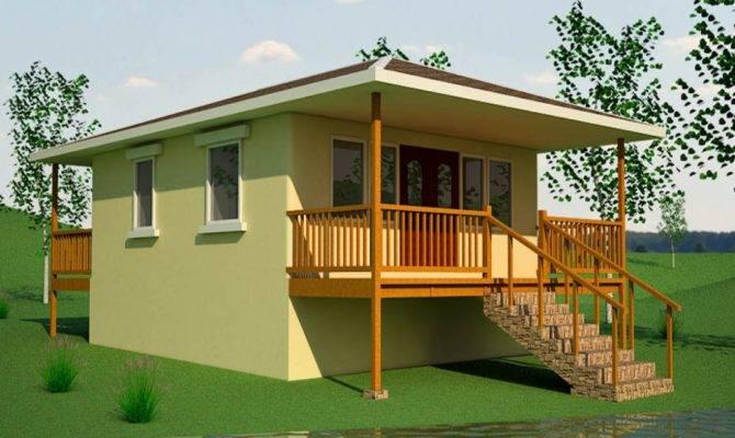 Small Beach House Plans Cottage Floor