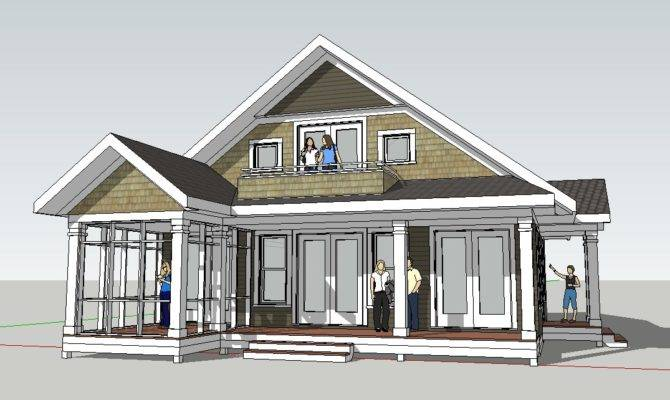 Small Beach House Plans Cottage