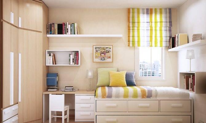 Small Bedroom Design Spaces Home Decor Interior