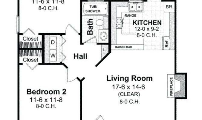 Small Bedroom Guest House Plans