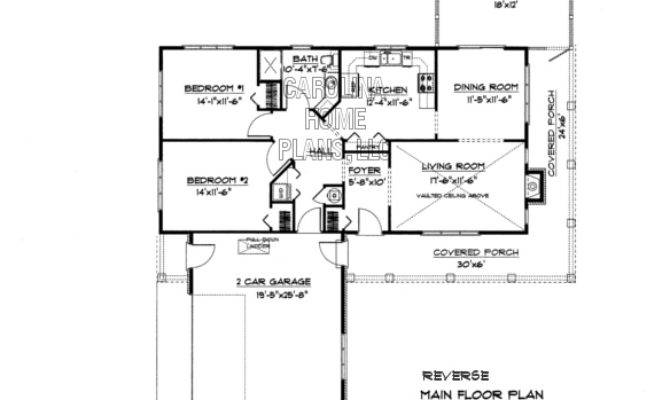 Small Brick Ranch Style House Plan