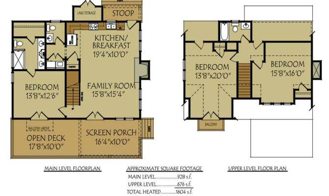 Small Bungalow Cottage House Plan Porches Photos