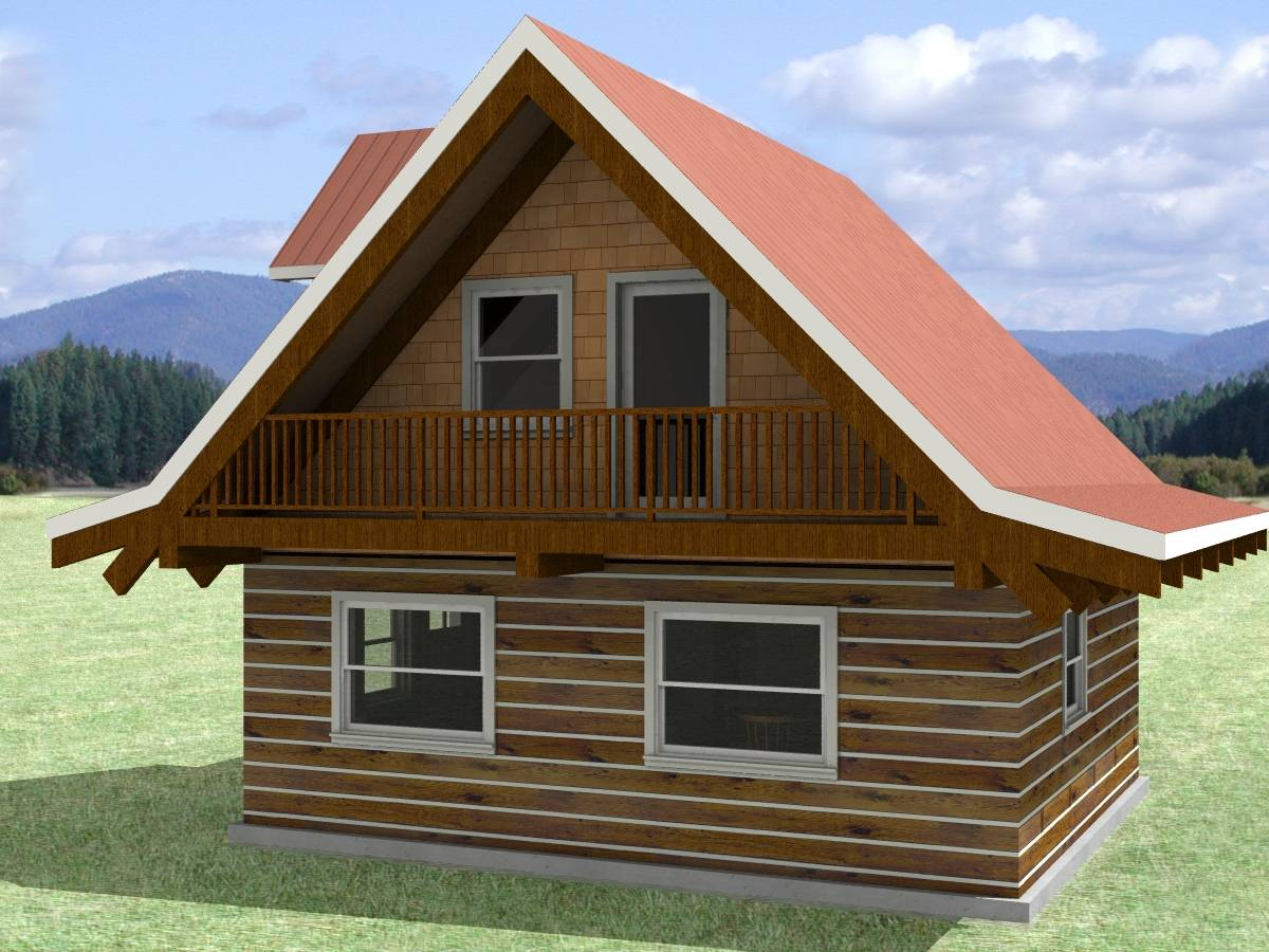 Small Cabin Designs Loft Sample Design Simple Building