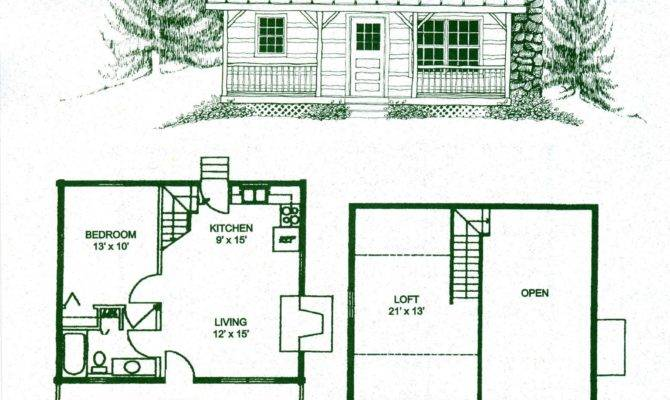Small Cabin Loft Floorplans Photos