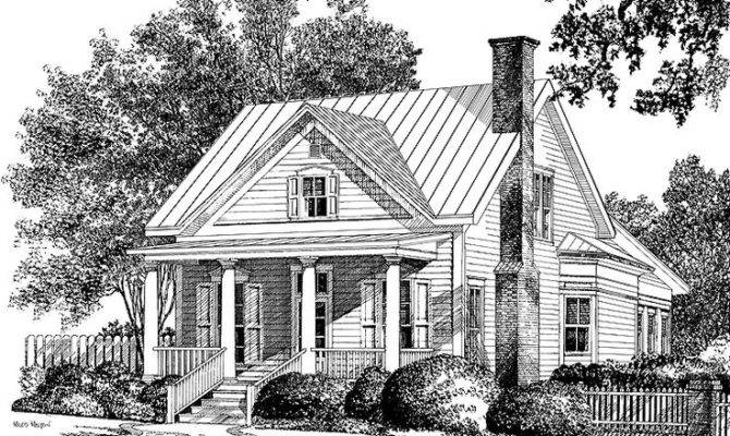 Small Colonial Home Plans