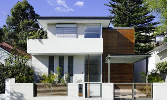 Small Contemporary House
