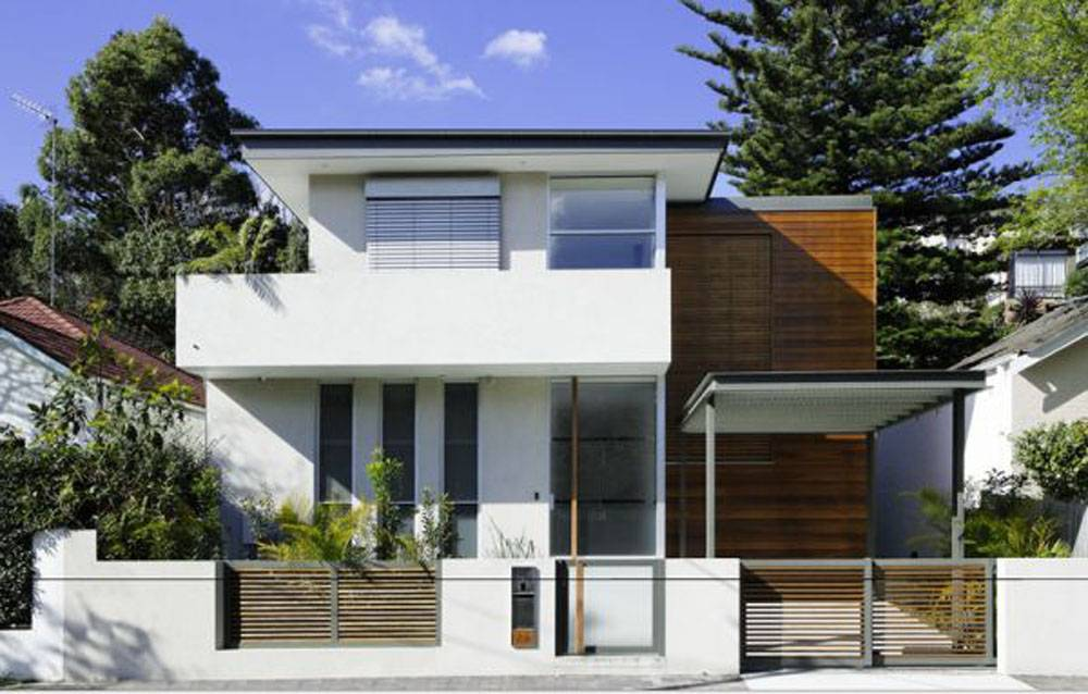 Small Contemporary House