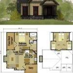 Small Cottage Floor Plan Loft Pinterest