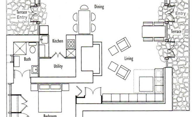Small Cottage Floor Plans Plan