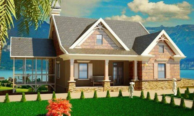 Small Cottage House Plans Porches Southern