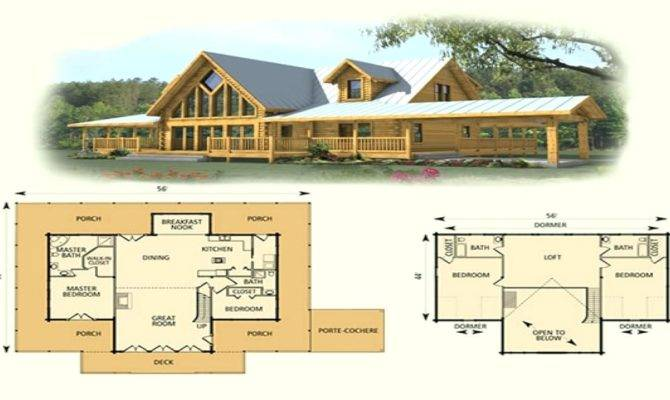 Small Cottage Loft Plans Cute One Bedroom Cabin Log