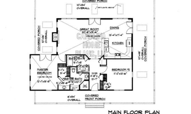 Small Country Cottage House Plan