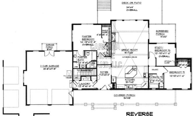 Small Craftsman Style Home Plan Affordable