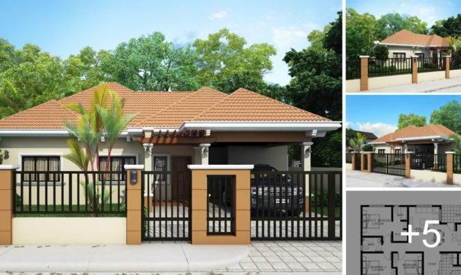 Small Cute Houses Design Home Modern Bungalow House Beach
