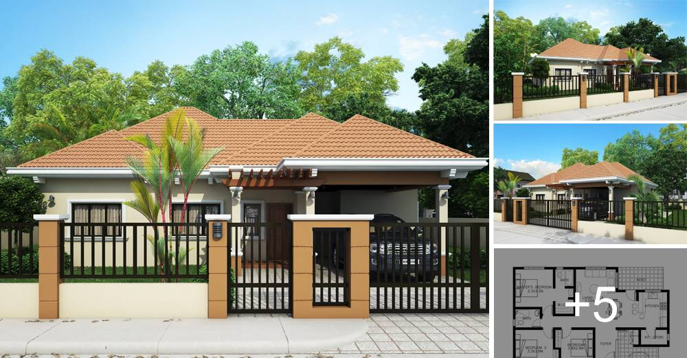 Small Cute Houses Design Home Modern Bungalow House Beach