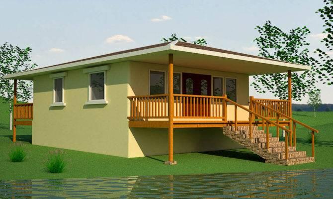 Small Earthbag House Plans