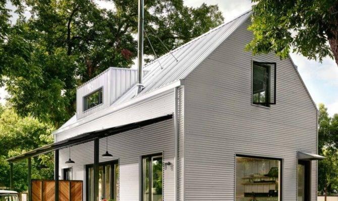 Small Energy Efficient Farmhouse Austin Designed