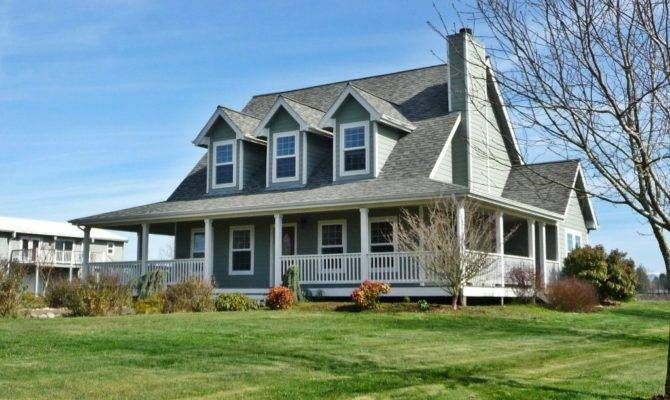 Small Farmhouse House Plans Wrap Around Porch